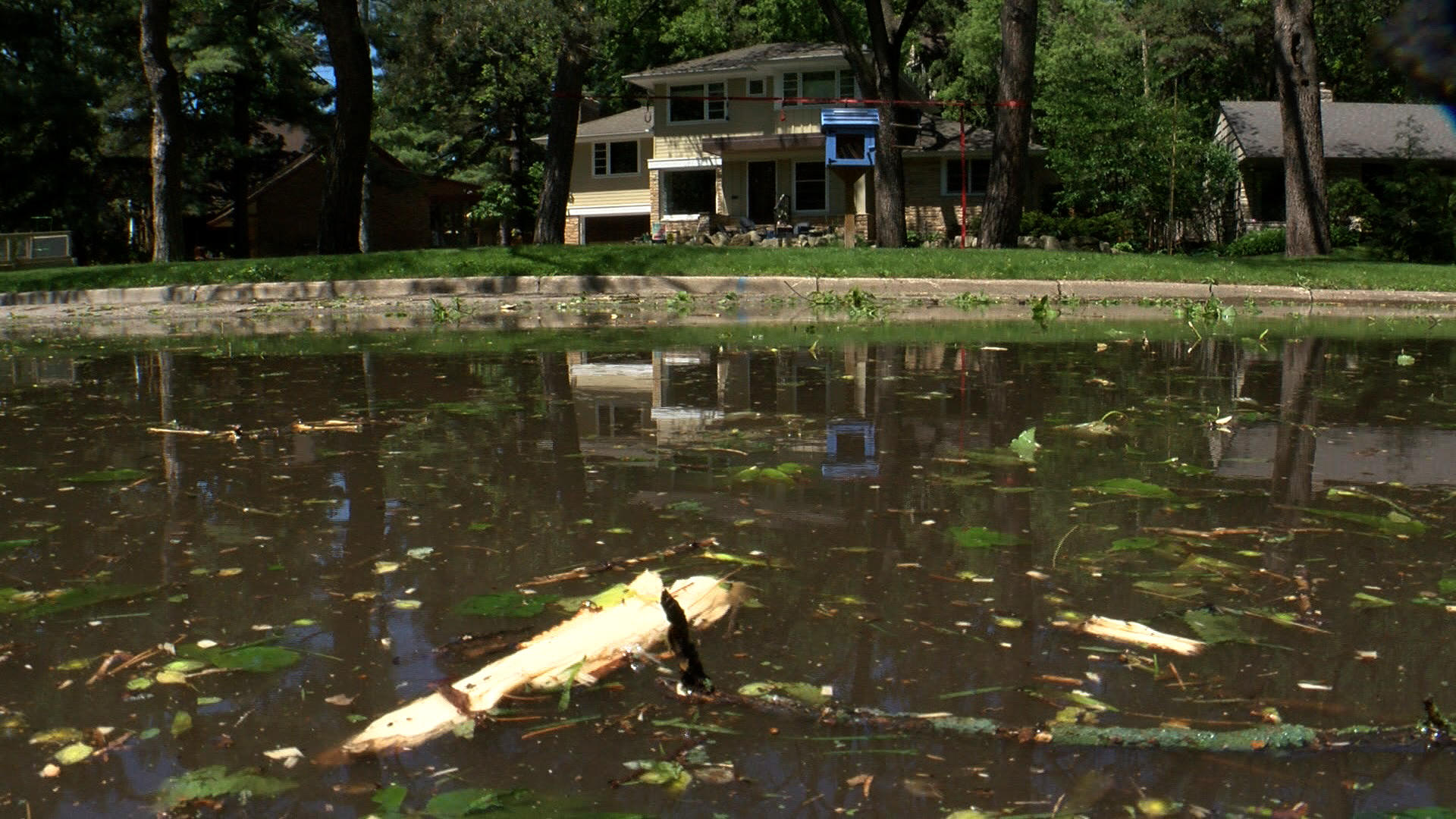 Twin Cities flooding from record-setting Memorial Day rain, via WCCO.