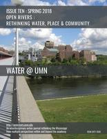 Cover to 'Open Rivers' Issue Ten, Water @ UMN